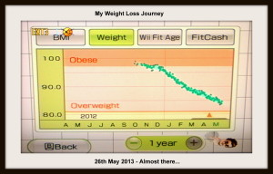 Neil's Weight: from 98 to 84 kg